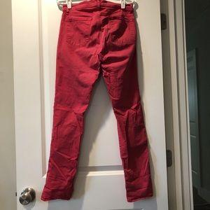 J Brand Jeans - Red skinny j brand